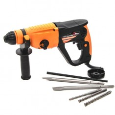 Rotary hammer STORM SDS PLUS 920 W, 0-980 rpm, 0-5185 bpm, 3 modes, case+accessories INTERTOOL WT-0152: фото 2