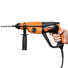 Rotary hammer STORM SDS PLUS 920 W, 0-980 rpm, 0-5185 bpm, 3 modes, case+accessories INTERTOOL WT-0152: фото 5