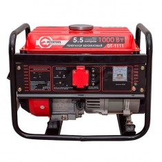 Gasoline generator max power 1.2 kW, rated power 1.1 kW, 3.0 Hp, 4 stroke, manual start, 26.5 kg INTERTOOL DT-1111: фото 3