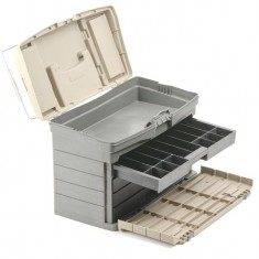 "Multifunctional organizer for hardware 17"", 435x235x30 mm INTERTOOL BX-4017: фото 13"